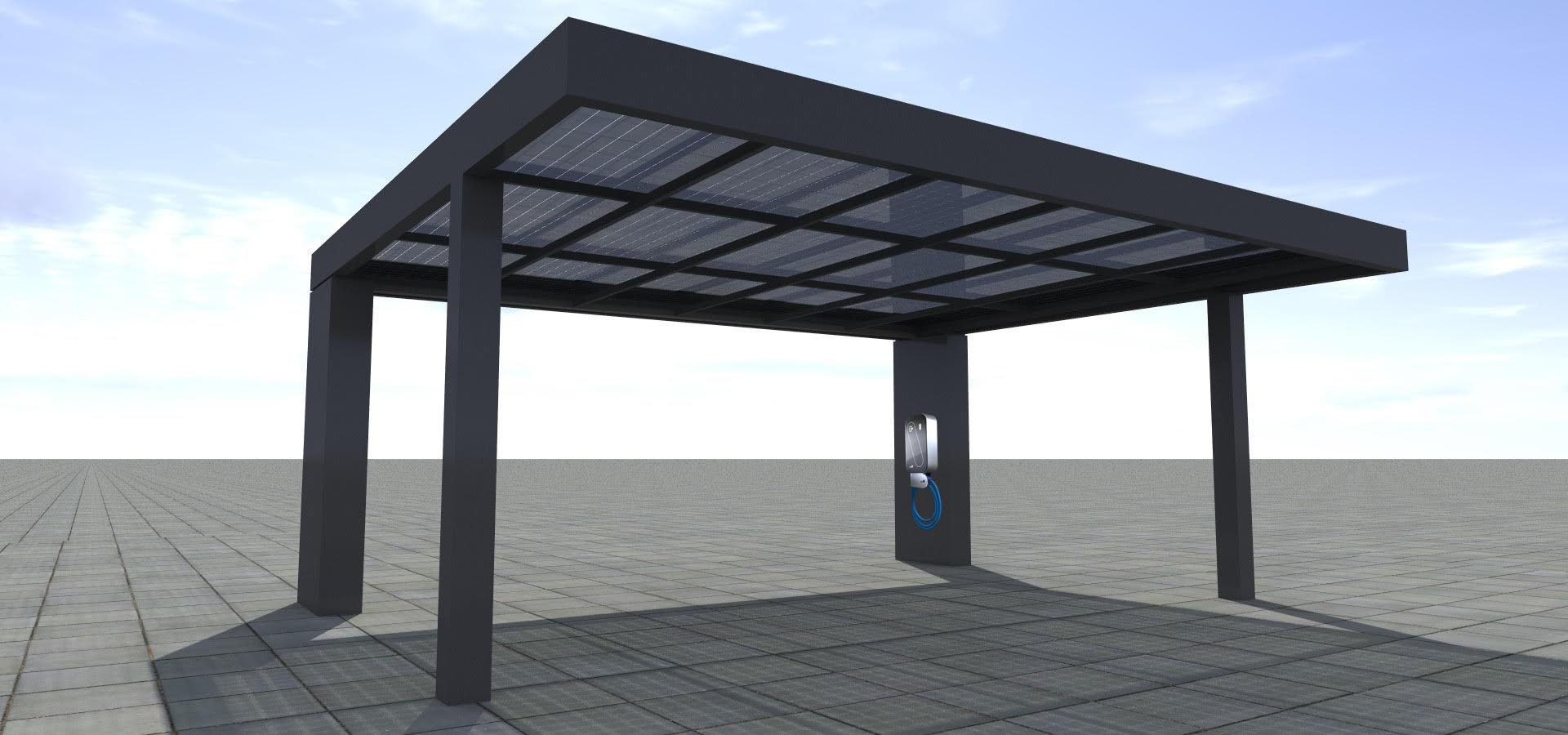 eKubo Photovoltaik Carport